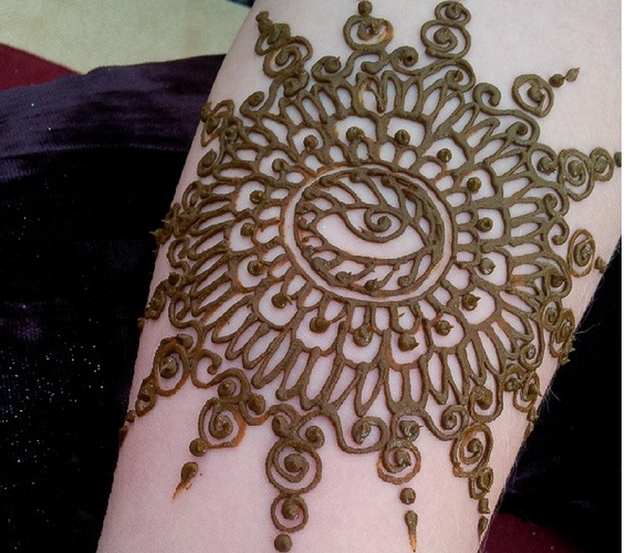 Mehndi Patterns Meaning : Henna designs meaning makedes